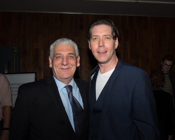Director Glenn Casale and James Barbour