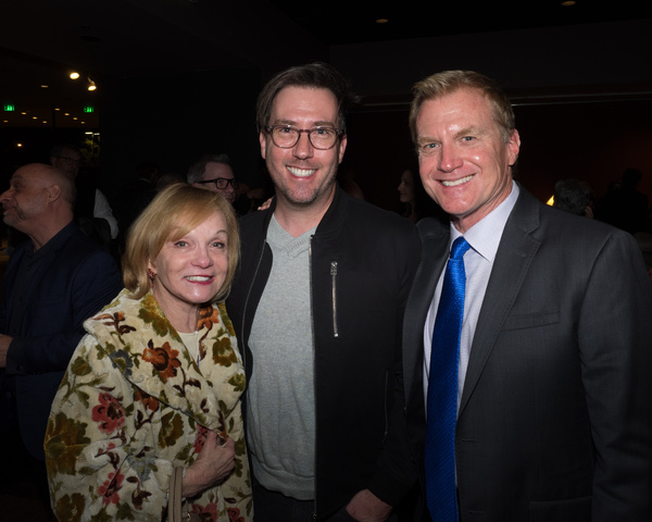 Executive Producers Cathy Rigby and Tom McCoy with Steven Young
