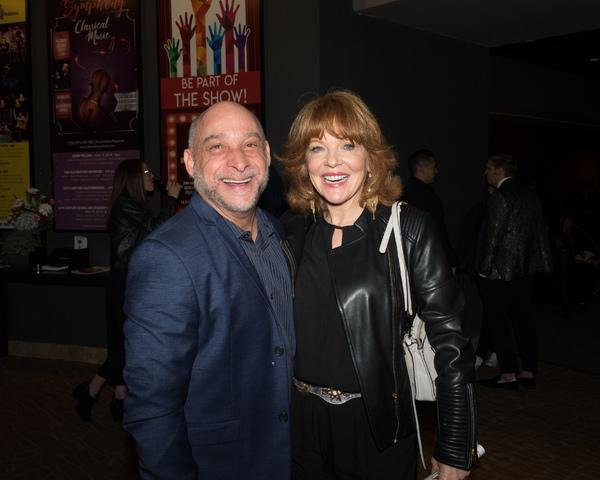 Jamie Torcellini and Cynthia Ferrer