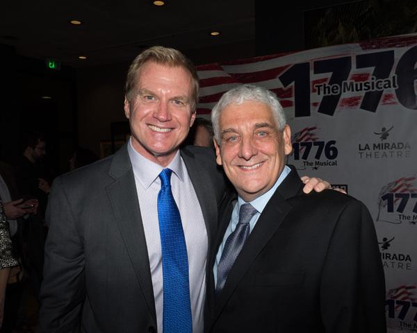 Tom McCoy and Glenn Casale