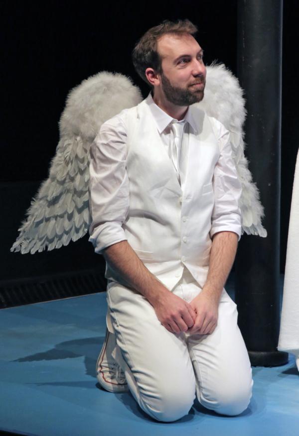 Michael Lynch as the Archangel Michael  Photo