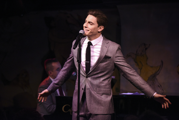Photo Flash: Inside Derek Klena's Solo Debut at Cafe Carlyle
