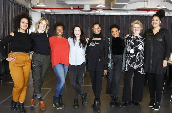 Photo Flash: In Rehearsal with LCT3's MARYS SEACOLE