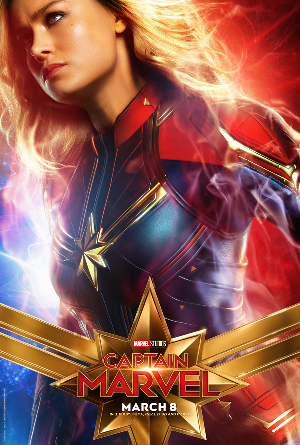 Photo Flash: See the New Character Posters for CAPTAIN MARVEL