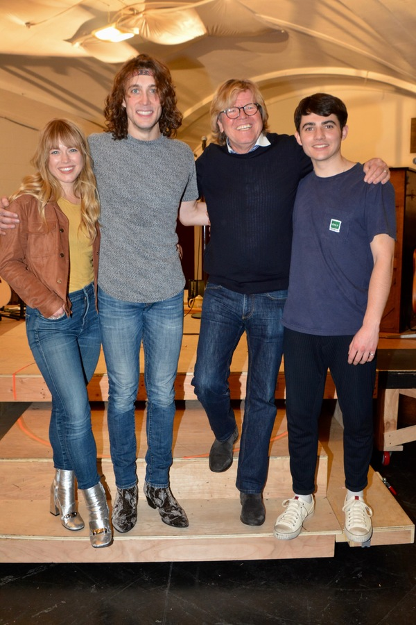 Photo Coverage: Cast of MY VERY OWN BRITISH INVASION Meets The Press
