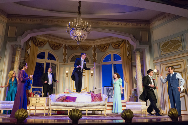 Company of Ken Ludwig's A COMEDY OF TENORS
