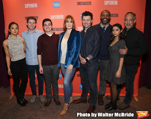 Photo Coverage: Meet the Cast of SUPERHERO