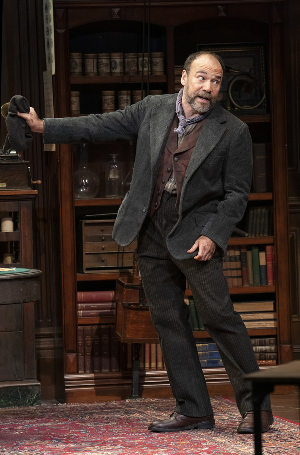 Photo Flash: A Loverly First Look at Danny Burstein & Christian Dante White in MY FAIR LADY!
