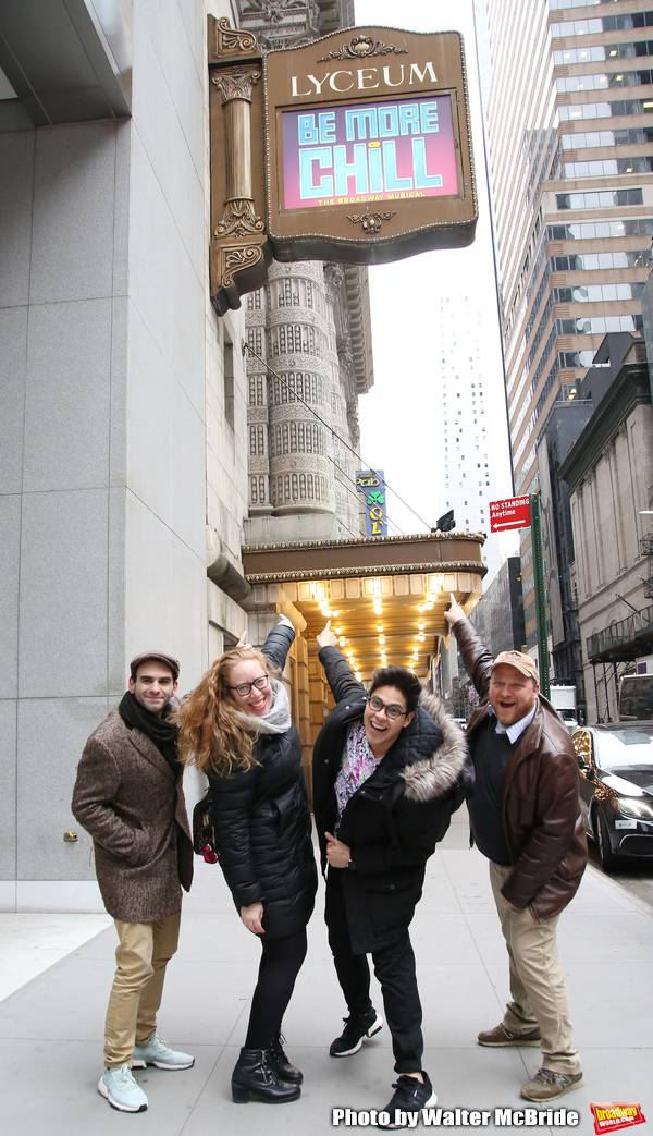 Joe Iconis, Jennifer Ashley Tepper, George Salazar and Jason Sweettooth Williams