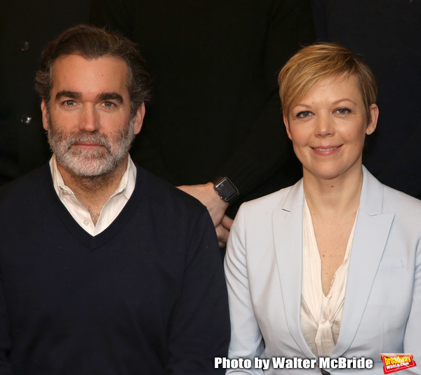 Brian d'Arcy James and Emily Bergl