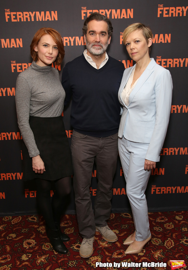 Photo Coverage: Brian d'Arcy James And The New Cast of THE FERRYMAN Meet The Press