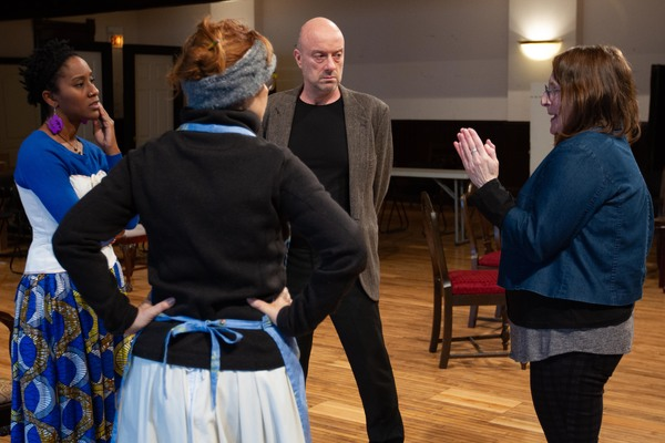 Photo Flash: in Rehearsals For Steppenwolf's Production of A DOLL'S HOUSE, PART 2