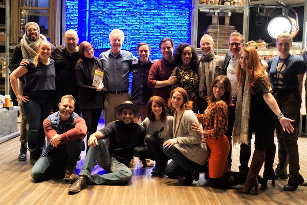 Photo Flash: Original MERRILY WE ROLL ALONG Cast Members Visit Roundabout Production