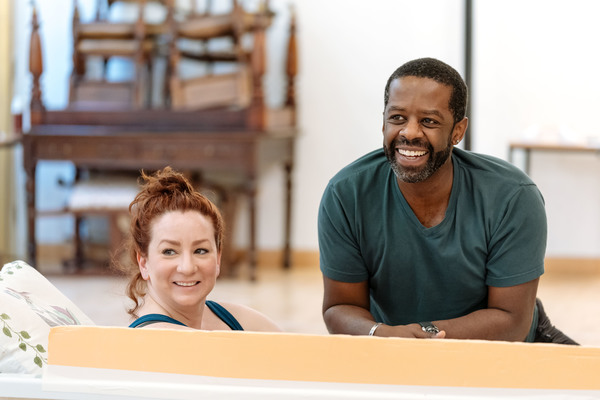 Photo Flash: Inside Rehearsal For COST OF LIVING at Hampstead Theatre