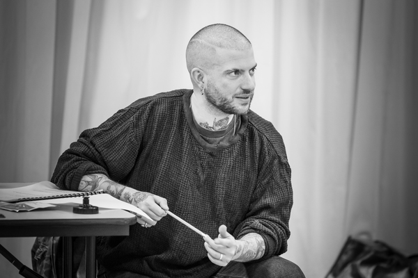 Photo Flash: In Rehearsal with the Cast of PINTER SEVEN