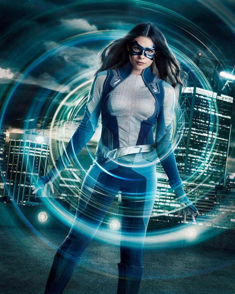 Photo Flash: First Look of Nicole Maines as the DC Character 'Dreamer' on SUPERGIRL