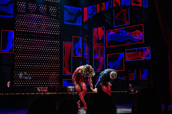 Photo Coverage: Tiki Barber, Callum Francis and Andy Kelso Join The Cast of KINKY BOOTS