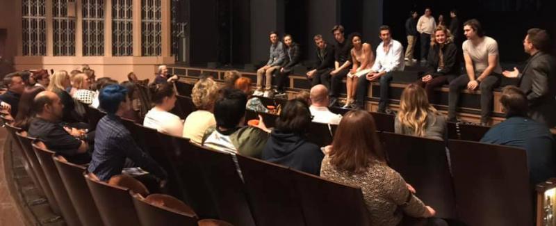 BWW Feature: Full Tour Cast of DEAR EVAN HANSEN Surprises Utah Theater Lovers After Group's Excursion to Las Vegas
