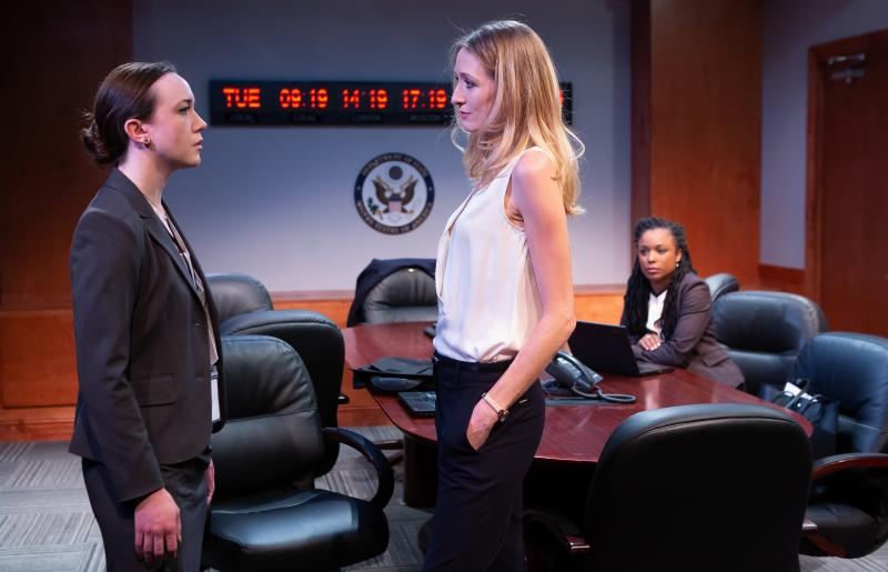 BWW Review: Diplomacy Demands Charisma in Helen Banner's INTELLEGENCE