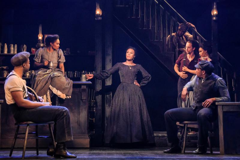 BWW Review: PARADISE SQUARE at Berkeley Repertory Theatre is almost that.