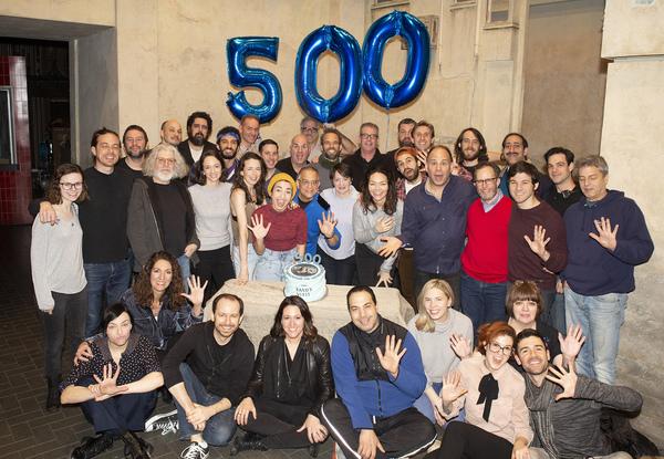 Photo Flash: THE BAND'S VISIT Celebrates 500 Performances on Broadway