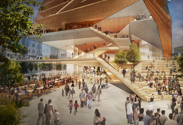 Photo Flash: First Look at the Concept Designs For London Centre For Music Project