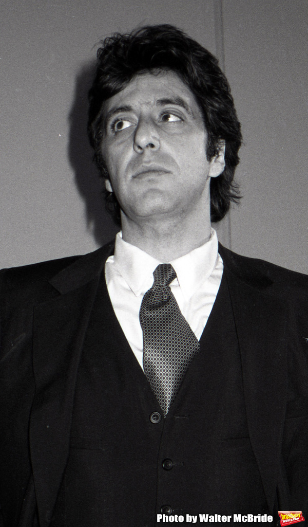 Al Pacino attends the Theatre Hall Of Fame Awards held on March 28, 1982 at the Uris Theater, now called the Gershwin Theater, New York City.