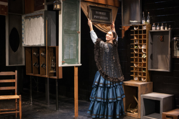 Photo Flash: Photo Flash: Strange Sun Theater's WICKEDEST WOMAN