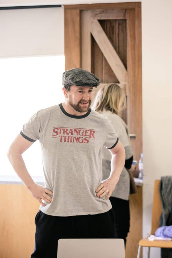 Photo Flash: Inside Rehearsal For RUTHERFORD AND SON at at Sheffield Theatres
