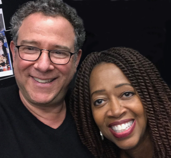 """Reunited with Michael Grief! First day of """"Rent:LIVE"""" rehearsal. He was the Associate Director of Big River on Broadway. He, Ron Richardson and I worked together on Big River in Japan."""