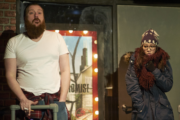 Photo Flash: First Look at RED REX at Steep Theatre