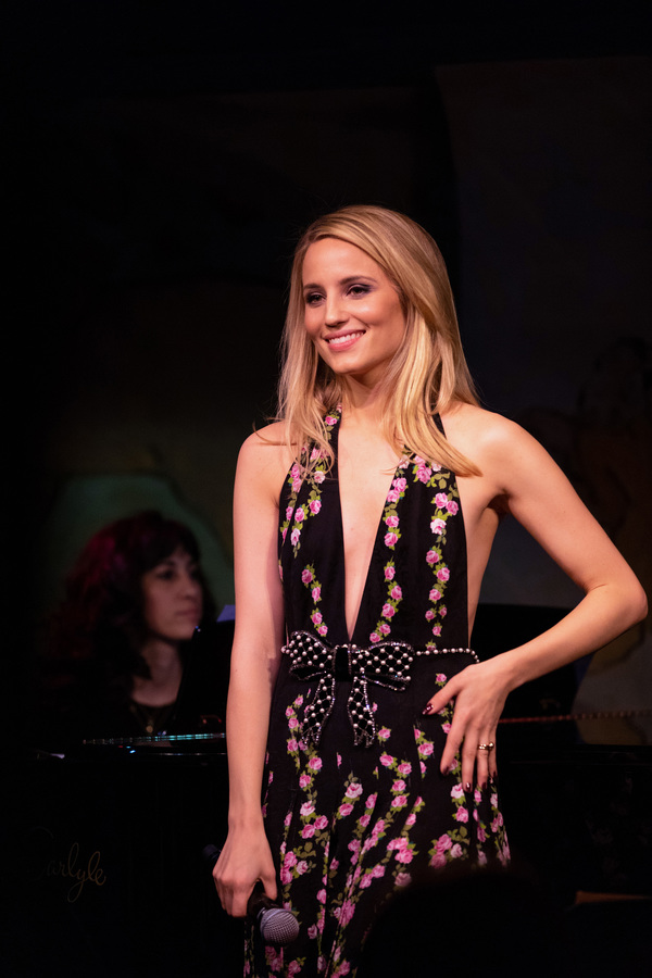 Photo Flash: Dianna Agron Charms at Cafe Carlyle