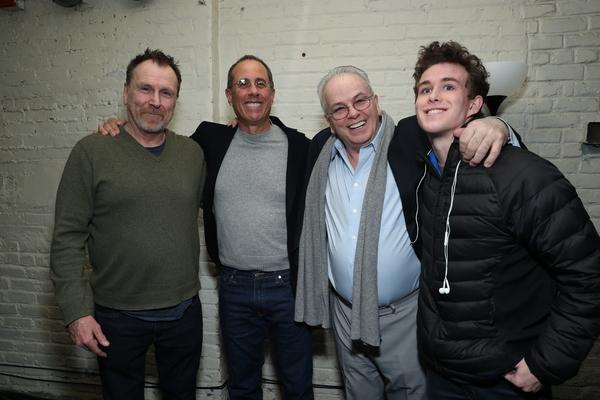 Colin Quinn, Jerry Seinfeld, Bobby Moresco