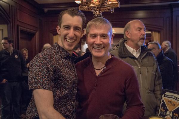 Michael Perrie Jr., and Rik Walter Photo