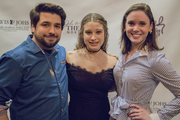 Jake Goldsztejn, Leila Scandar and Jennifer Walsh Photo