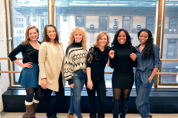 Jillian Louis, Madison Stratton, Lindsay Nicole Chambers, Megan Sikora, Sharon Cather Photo