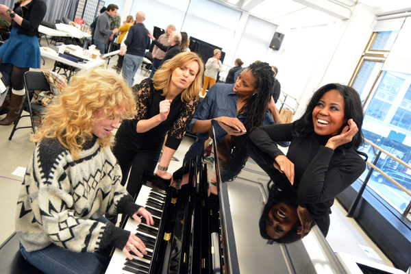 Photo Flash: In Rehearsal with CHICK FLICK THE MUSICAL