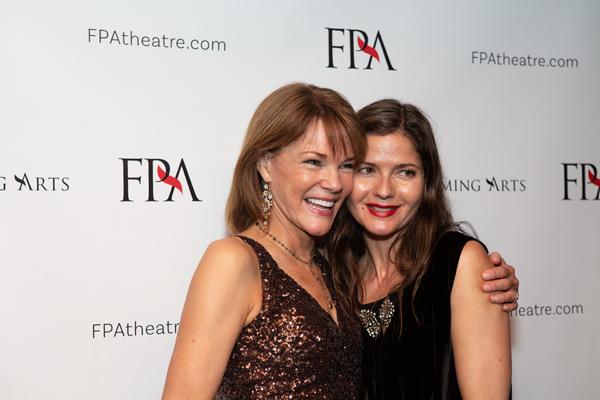 Carolyn McCormick and Jill Hennessy