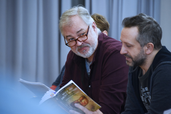 Photo Flash: Inside Rehearsals For Northern Broadsides and New Vic Theatre's MUCH ADO ABOUT NOTHING