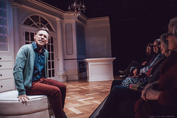 Photo Flash: Nick Cearley Stars In BUYER & CELLAR At The Armory