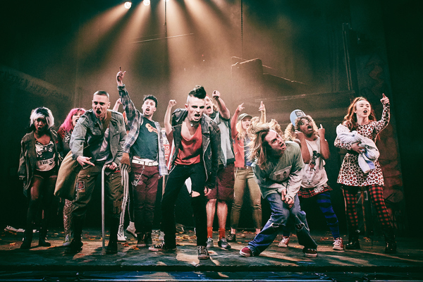 Photo Flash: First Images Of the 10th Anniversary UK Tour Of Green Day's AMERICAN IDIOT