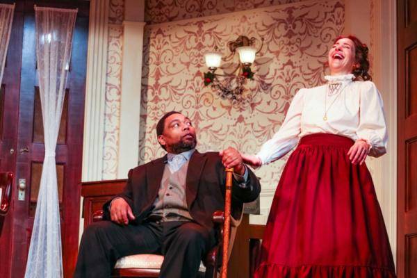 Dr. Rank (Mark Peterson) & Nora (Annie Katica Green)