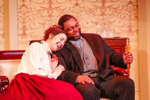 Nora (Annie Katica Green) & Dr. Rank (Mark Peterson)