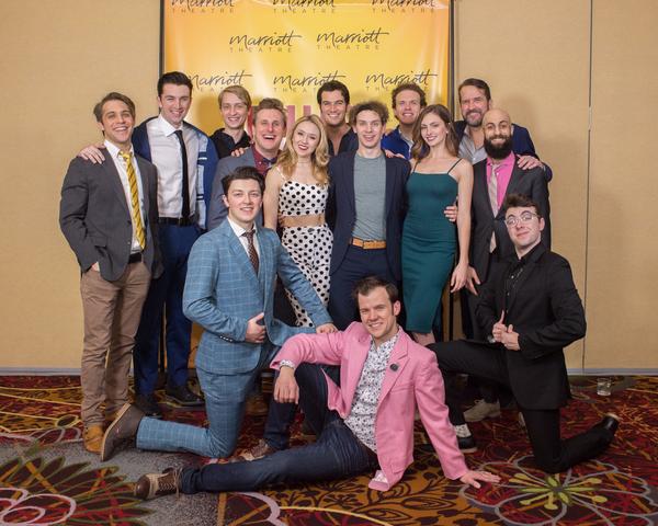 Photo Flash: Inside Opening Night of Marriott Theatre's MILLION DOLLAR QUARTET