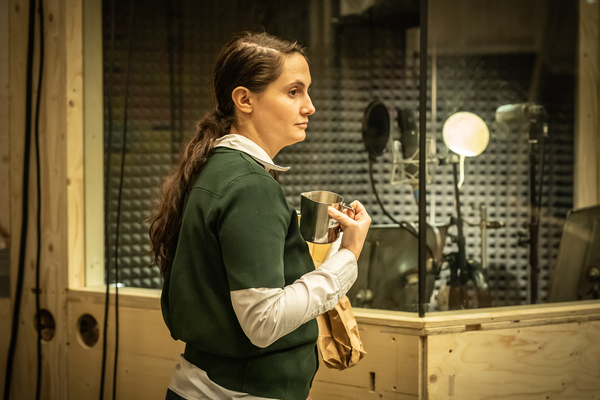 Photo Flash: Inside Rehearsal For BERBERIAN SOUND STUDIO at the Donmar Warehouse