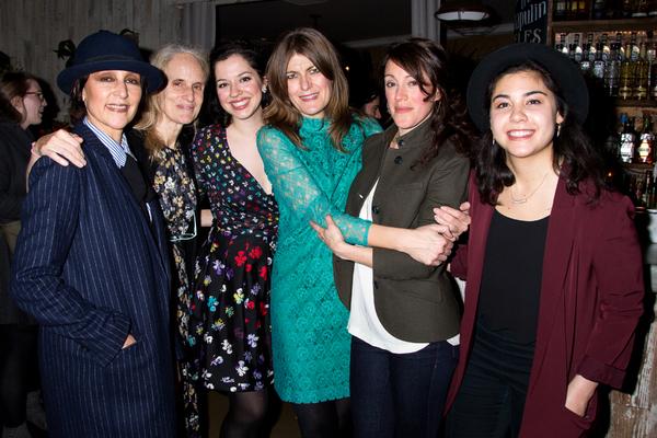 Lisa Ramirez, Wendy Vanden Heuvel, Amy Berryman, Annabel Capper, Samantha Soule, Brittany Anikka Liu