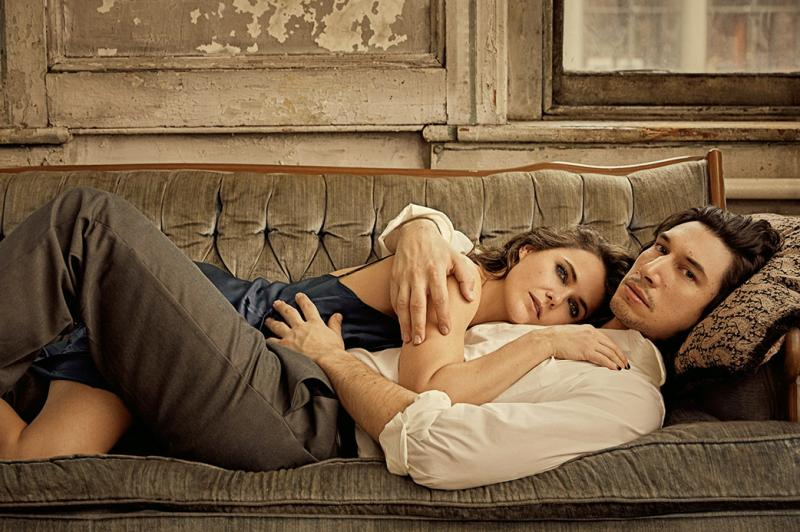 Photo Flash: Things Heat Up as Adam Driver & Keri Russell Pose for BURN THIS