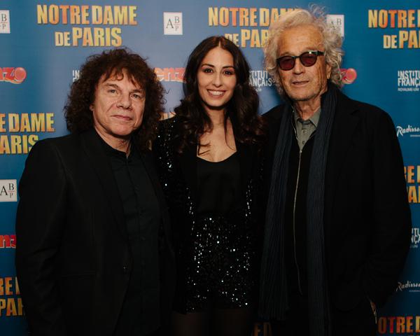 Richard Cocciante, Hiba Tawaji and Luc Plamondon