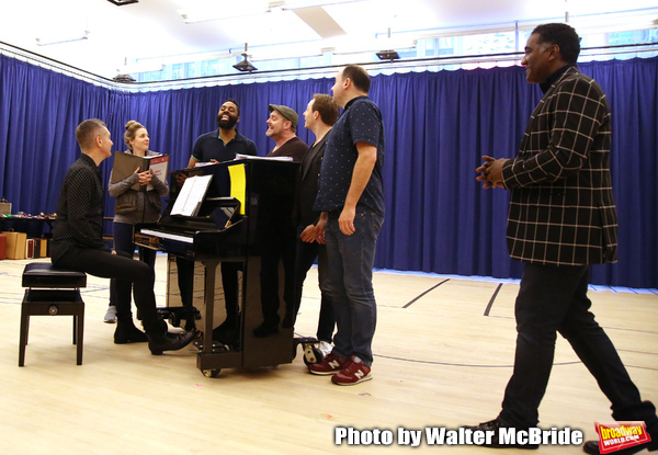 James Moore, Jessie Mueller, Nicholas Ward, Todd Horman, Arlo Hill, Jimmy Smagula and Norm Lewis