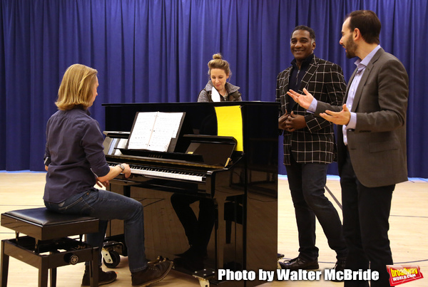 Photo Coverage: Norm Lewis, Jessie Muller & More Rehearse for Kennedy Center's THE MUSIC MAN!